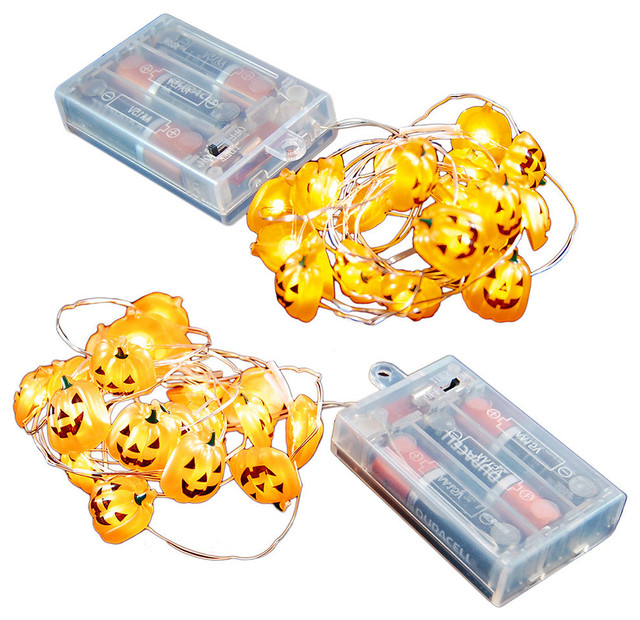 Battery Operated Led Waterproof 20 Mini String Lights With Timer, Set Of 2.