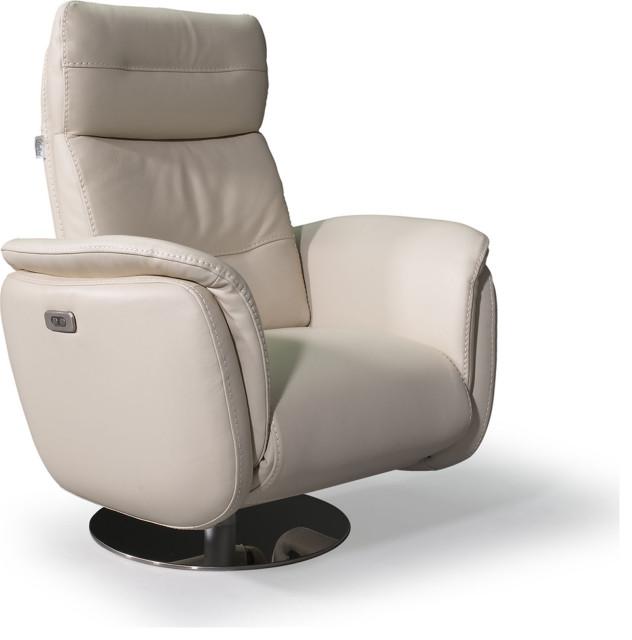 Maya Recliner Chair Contemporary, Club Chair Recliner Swivel