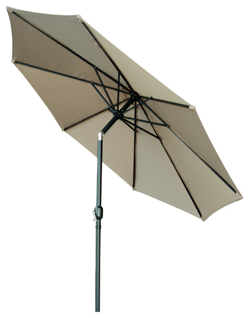 Patio Umbrella Crank Diagram: Tilt Crank Patio Umbrella, 9'
