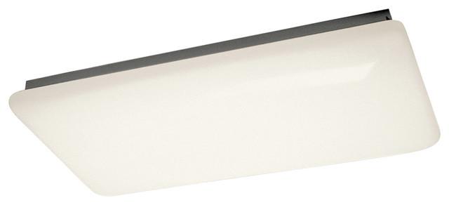 Shop Kichler Lighting 4 Light Bayley Olde Bronze Bathroom: Kichler Kichler 10303WH Linear Ceiling Mt 4Lt