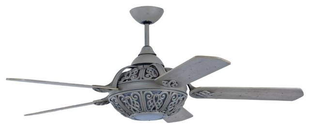 Santa Pepeo Grey Ceiling Fan With Remote