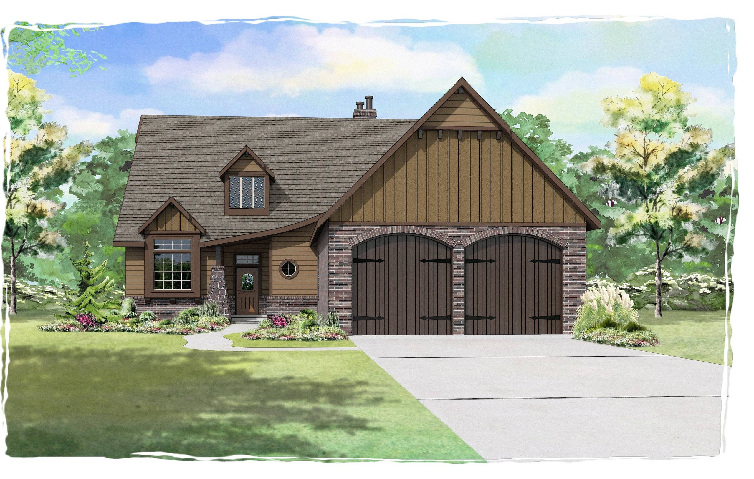 Seven Oaks - Plan 2530 Front Load