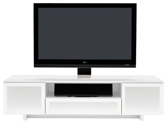 Nora quad wide enclosed cabinet modern entertainment
