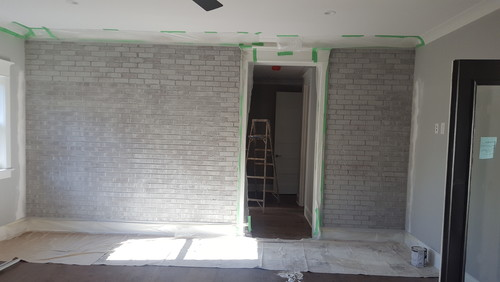 i need help with interior brick paint color
