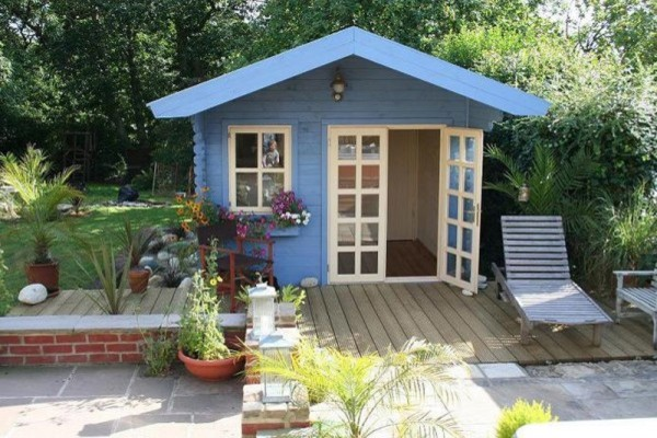 Wales Garden Shed Traditional