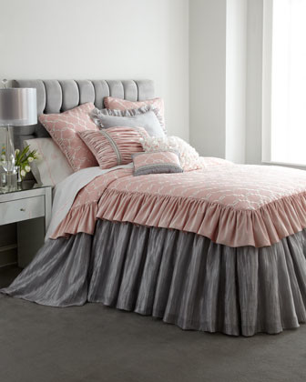 Queen Bedspread 60 X 81 With 28 L Attached Skirt