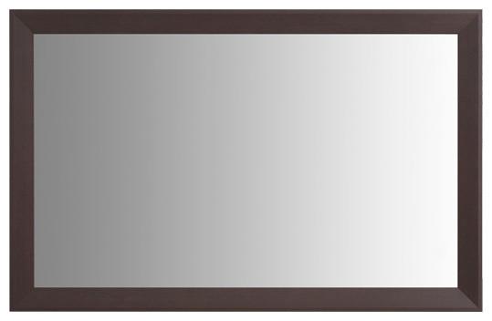 "Larue Espresso Framed Mirror, 36""x48""."