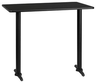 Flash Furniture   Flash Furniture 24 Inch X 42 Inch Rectangular Bar Table    Indoor Pub