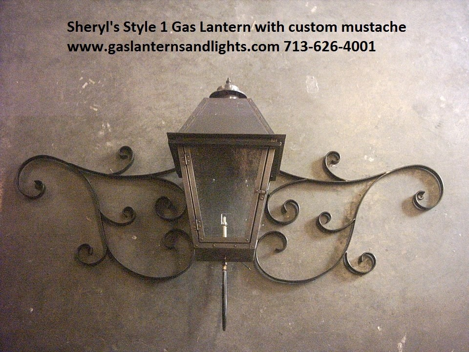Sheryl's Gas Lanterns with Mustache Curls