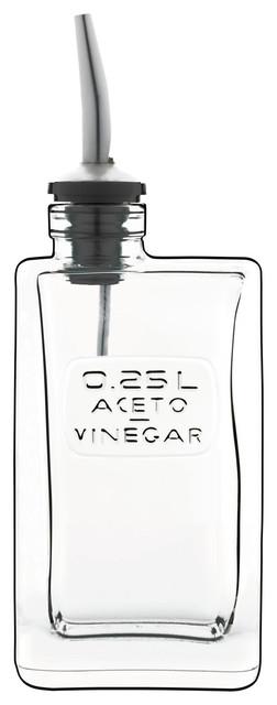 Optima Olive Vinegar Bottle.