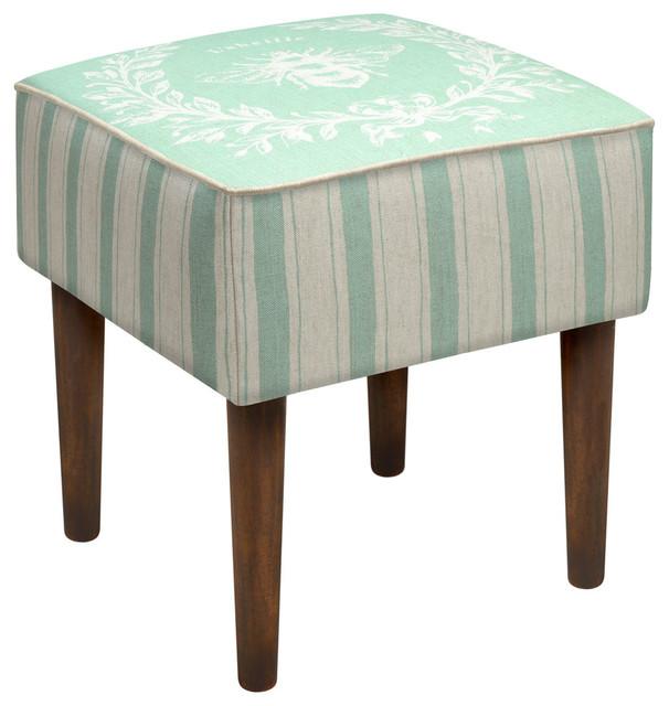 napoleon bee modern vanity stool contemporary