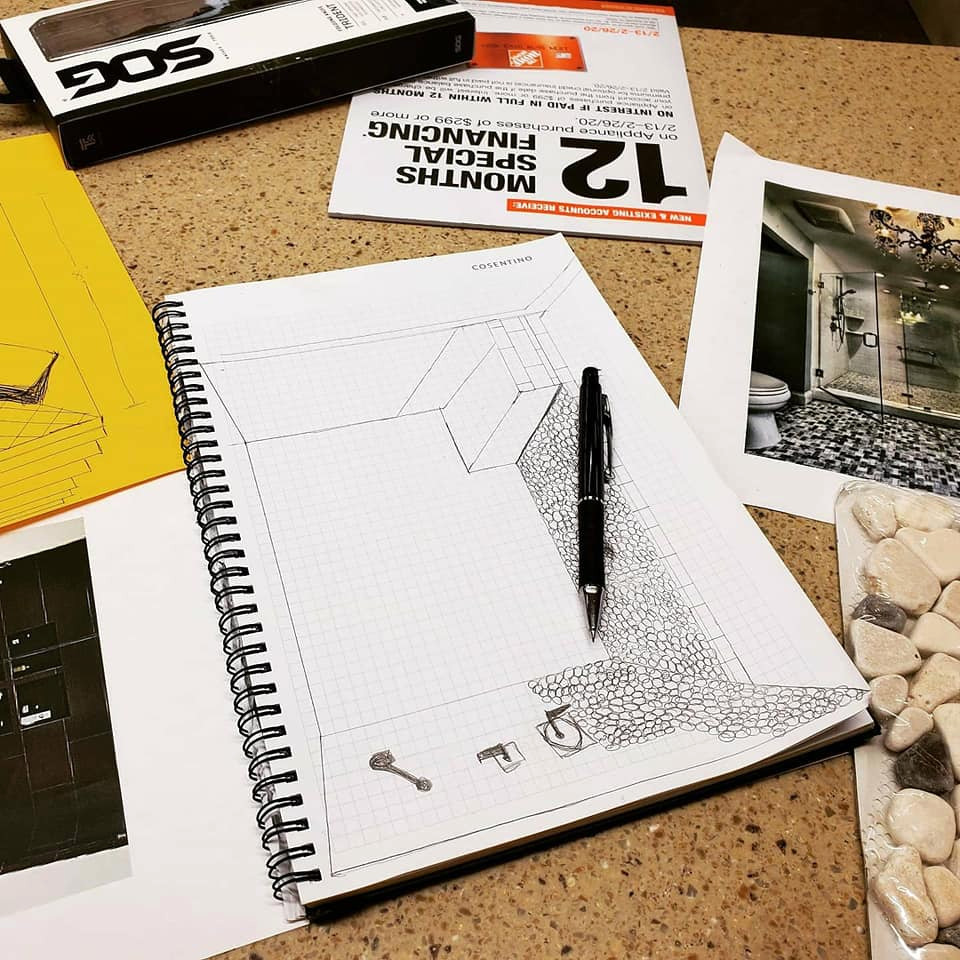 Drawings/Interior Design Sketches