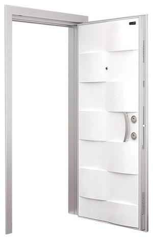 Deniz Steel Security Door, White.