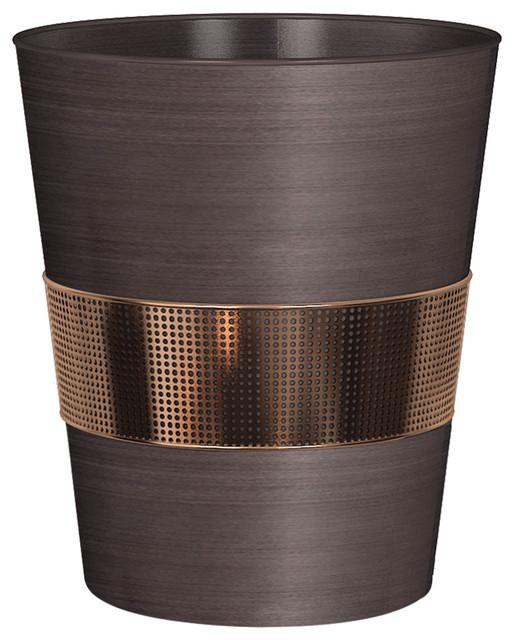 Selma Oil Rubbed Bronze Wastebasket