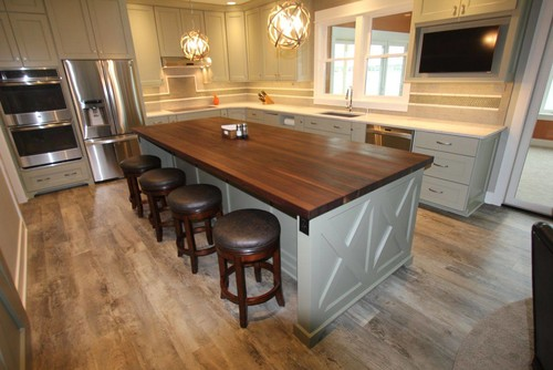 Beautiful Butcher Block Island