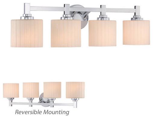 Miseno MLIT0590D Reversible 4 Light Bathroom Vanity