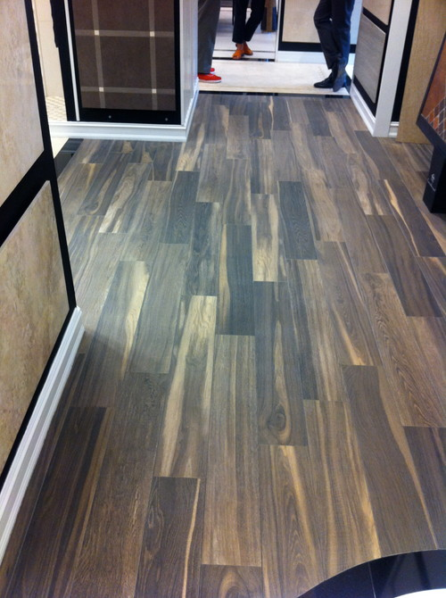 Elegant Real Wood Floor Vs. Ceramic Wood Look Tiles?