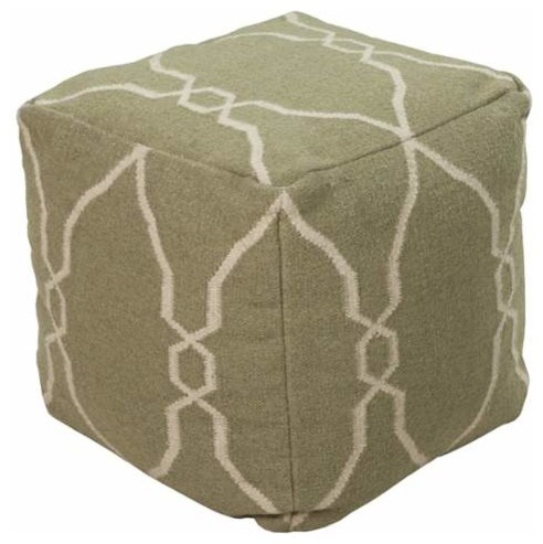 Surya Indoor Pouf From The Surya Poufs Collection