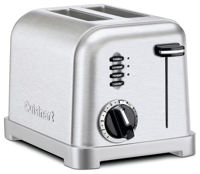 Metal Classic Toaster, 2-Slice.