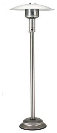 Patio Comfort Npc05ss Portable Ng Patio Heater, Stainless Steel, Add Cover.