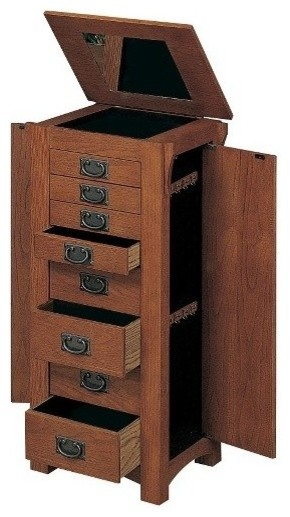 118182d58 ... Bedroom Furniture · Jewelry Armoires. Item 1 of 2. Mission Oak Jewelry  Armoire