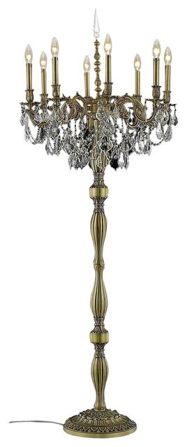 9208 Rosalia Collection Floor Lamp, Clear, Elegant Cut