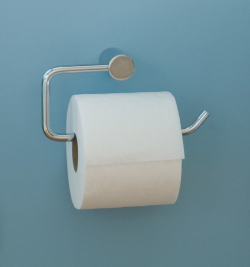 Toilet Paper Holder As Towel Rack