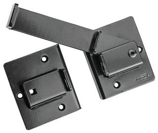 """*2 Pack* 7.5/"""" Satin Nickel High Quality Cabin Hook And Latches"""