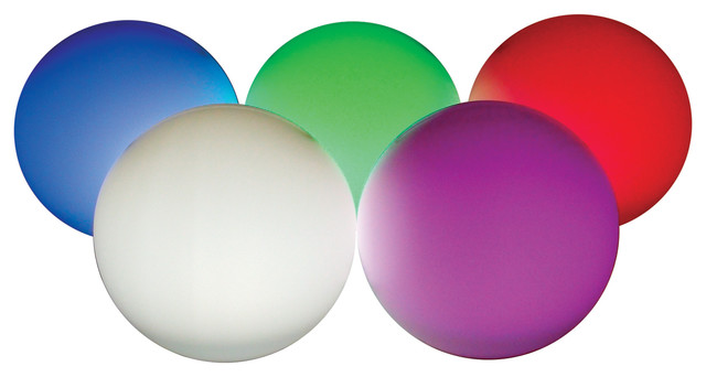 "Rainbow Orb, 9.5"", 36 Led, New."