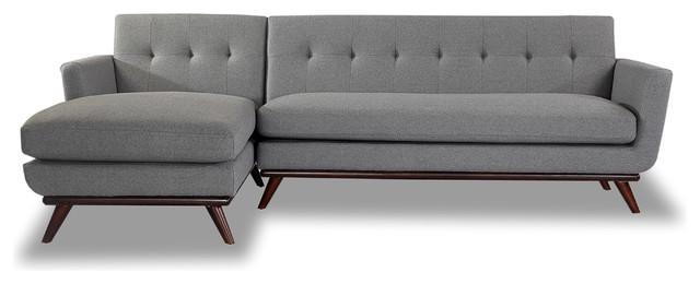 Kar l Kar l Jackie Mid Century Modern Sectional Sofa