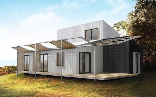 Prebuilt Mod House Freedom House Beach Style