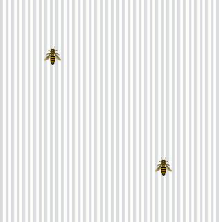 ... Bee Mine Gray Shelf Paper Drawer Liner - Drawer & Shelf Liners | Houzz