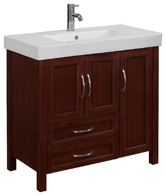 Shop Houzz Runfine Group Runfine Group 36 Quot Wood Vanity