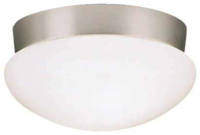 Kichler Lighting 8102ni Ceiling Space Utilitarian Flush Mount In Brushed Nickel.
