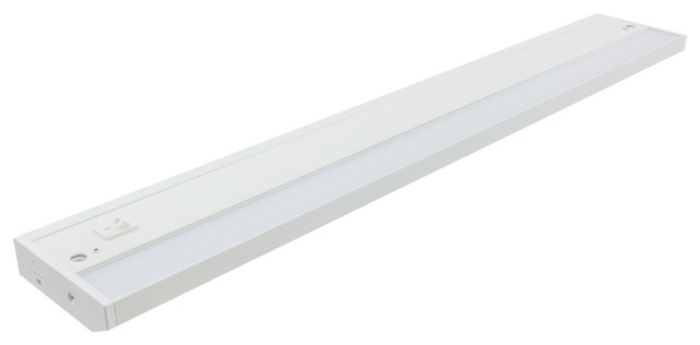 """AMERICAN LIGHTING ALC2-24-WH White 24.25"""" LED Dimmable Under Cabinet Light"""