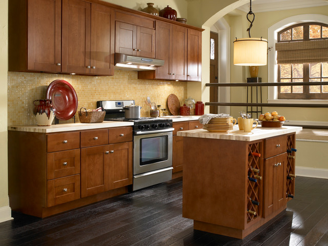 Findley & Myers Montauk Cherry Kitchen Cabinets - Other - by ...