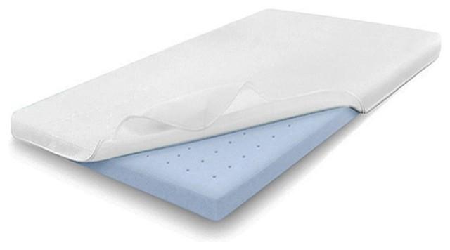 Sleep 2 Ventilated Air Gel Memory Foam Mattress Topper Full