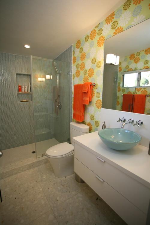 The Granite Gurus Marble Granite And Quartz In Retro Inspired Bathrooms