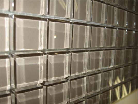 Glass Tile Clear Square 1 Quot X1 Quot Toronto By Cercan Tile