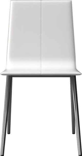 Brilliant Mayfair Dining Chair Bright White Creativecarmelina Interior Chair Design Creativecarmelinacom