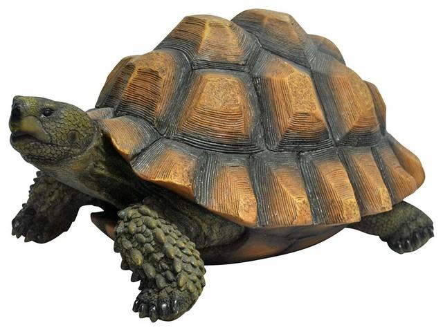 """Turtle Garden Statue, 9"""""""