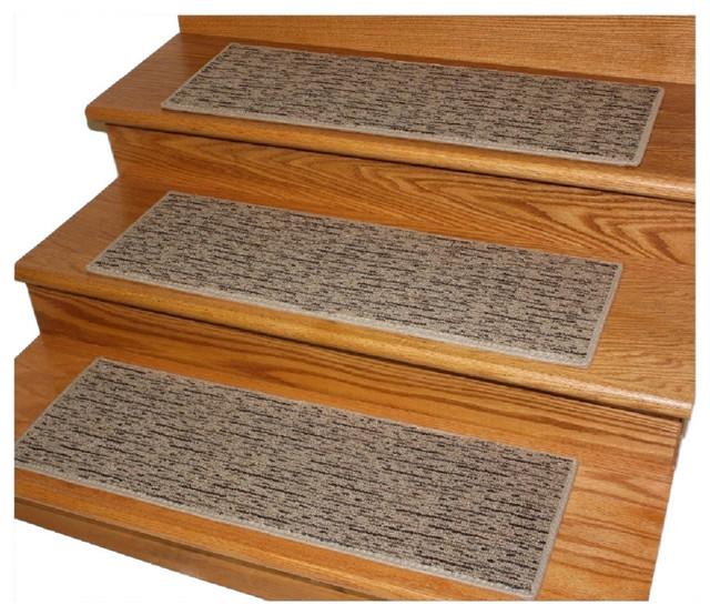 Dog assist carpet stair treads 8 x24 durango sandman for Jardin stair treads