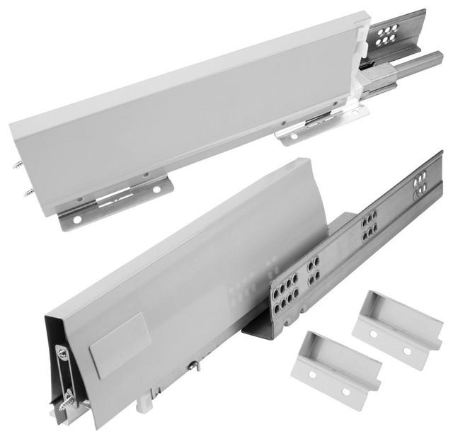 Kitchen Cabinet Undermount Drawer Slides: USE15-MDB Undermount Metal Drawer Box System, 15