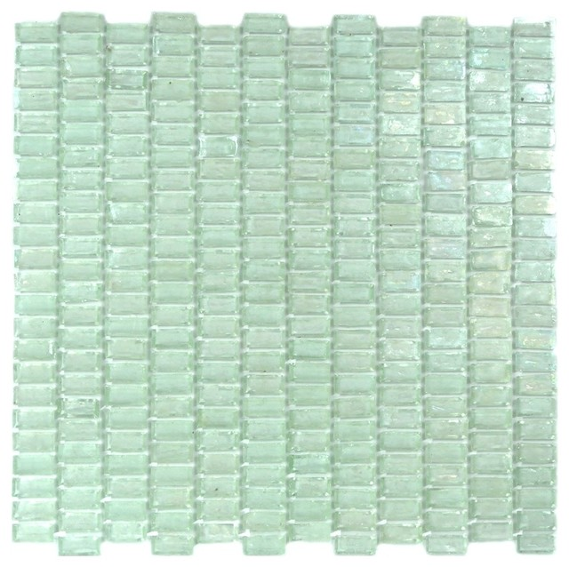 shop houzz gbm manufacturing light blue recycled glass