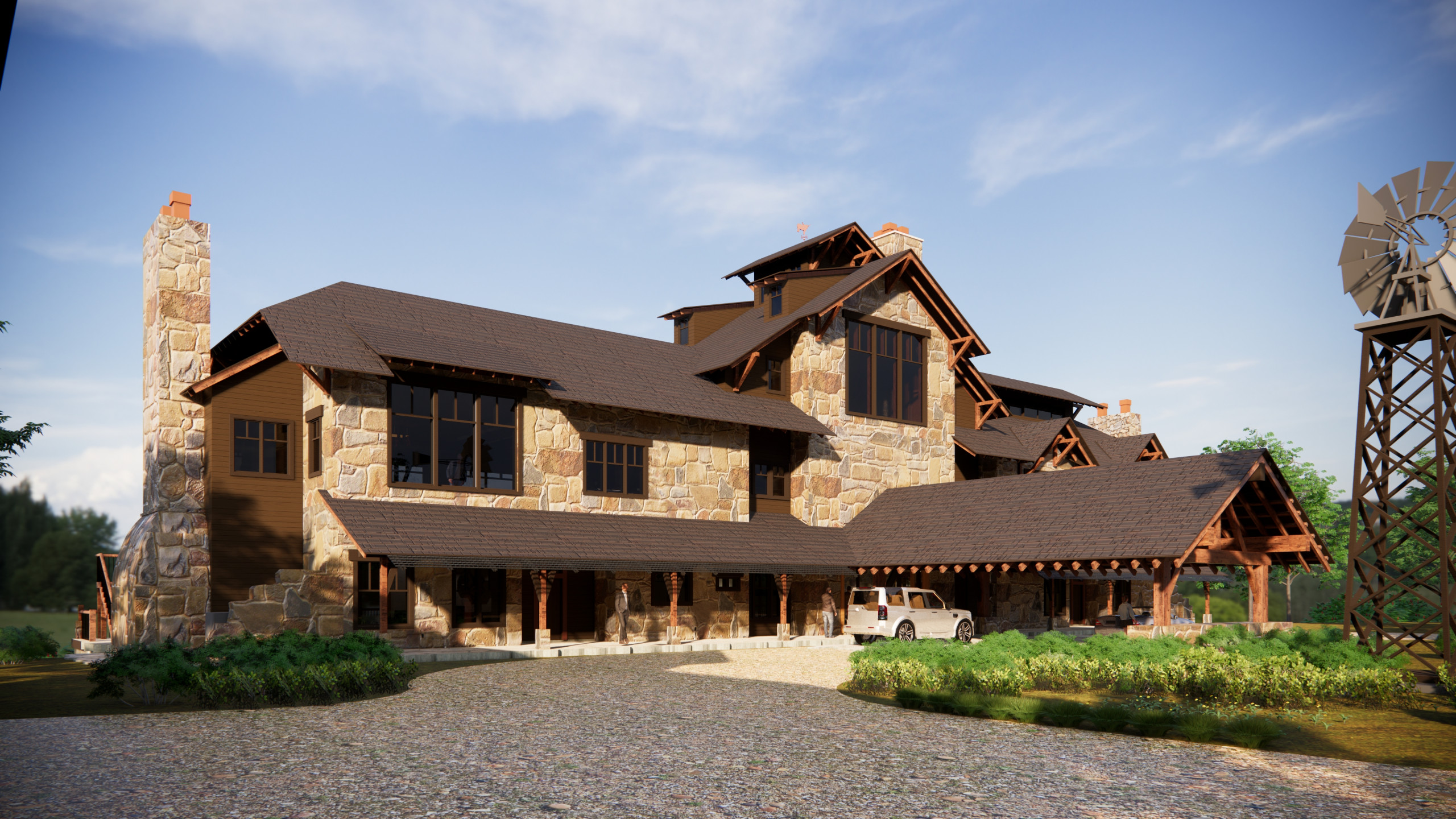 The Overlook Guest Lodge