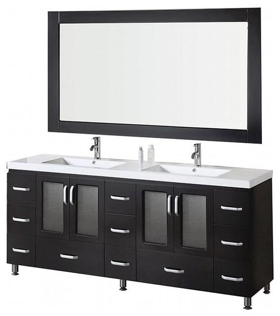 """Stanton 72"""" Double Sink Vanity Set."""