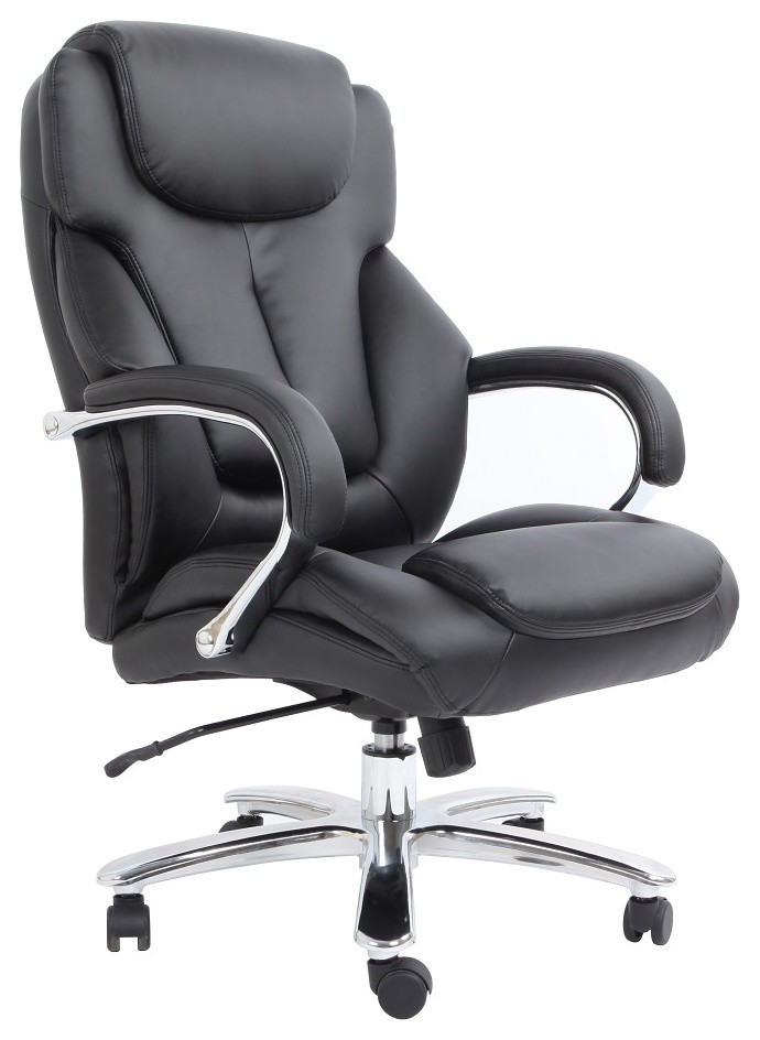 Admiral Iii Big And Tall Executive Leather Chair Contemporary Office Chairs By Comfort Products