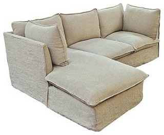 Taylor Scott Collection   Taylor Scott Collection Milano Sectional Sofa   Sectional  Sofas