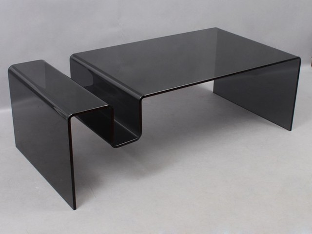 Table basse nike en verre contemporary coffee tables - Verre securit pour table ...