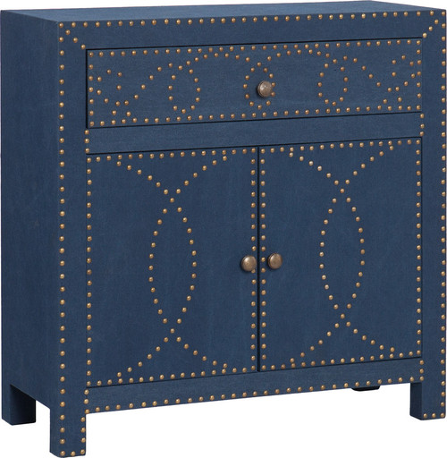 Florian Double-Door Cabinet, Navy